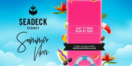 Seadeck Summer Sessions Sun 8 Dec