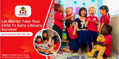 The Importance of Early Literacy tickets