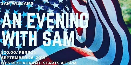 AN EVENING WITH SAM tickets