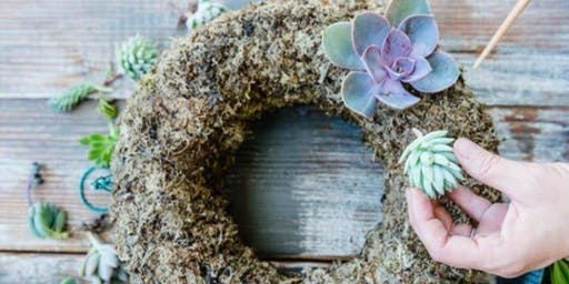 Succulent Wreath Workshop at Centennial Park