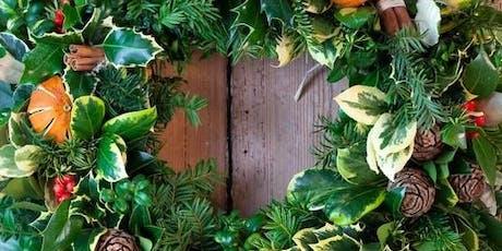 Christmas Door Wreath Making Workshop - Covent Garden  tickets