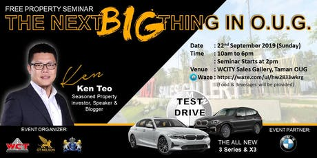 The Next Big Things In  Taman OUG ! tickets