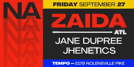 N/A: Zaida tickets