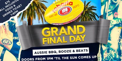 Robarta's Annual Grand Final Day BBQ