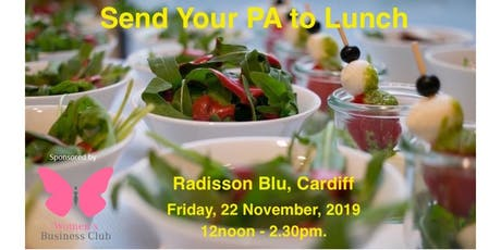 Send Your PA to Lunch tickets