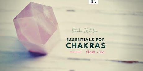 Essentials for Chakras tickets