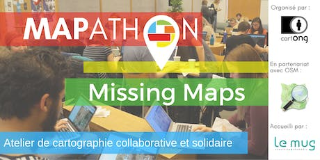 Mapathon Missing Maps à Chambéry @ Le Mug billets