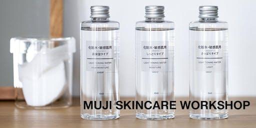 """MUJI """"Sensitive Skincare"""" Workshop"""