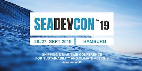 seadevcon 2019 - Ticket Sales tickets