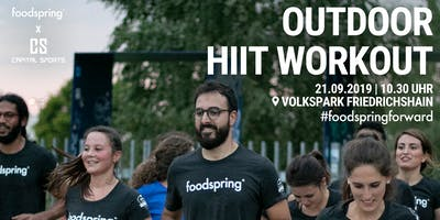 foodspring x Capital Sports Outdoor Workout