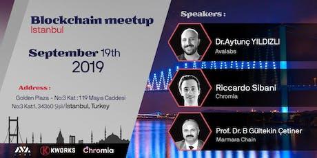 Blockchain Meet-up In Istanbul 2019 tickets