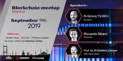 Blockchain Meet-up In Istanbul 2019