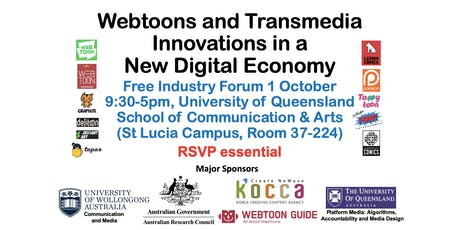 Webtoons and Transmedia Innovations in a New Digital Economy - Brisbane Forum tickets