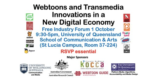 Webtoons and Transmedia Innovations in a New Digital Economy - Brisbane Forum
