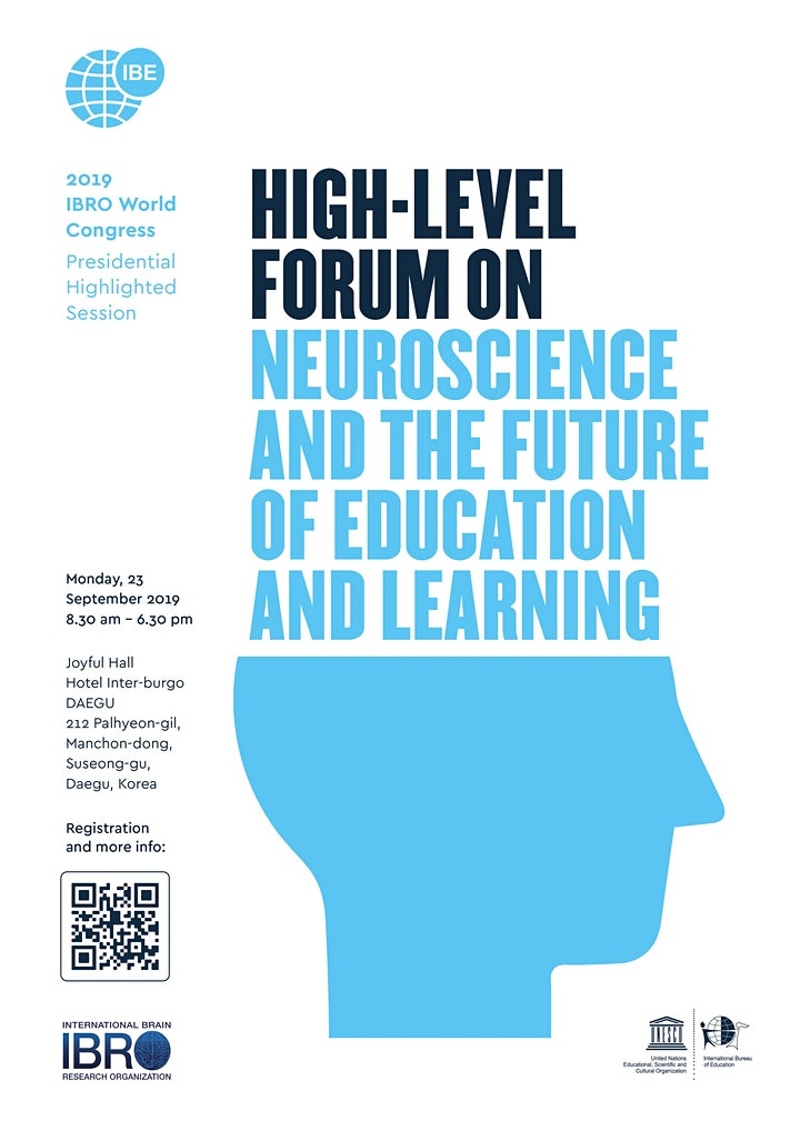 High-level Forum on Neuroscience and the Future of Education and Learning image