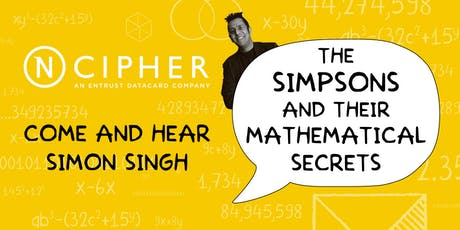 Simon Singh: The Simpsons and their Mathematical Secrets tickets