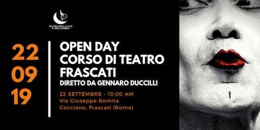 OPEN DAY Corso di Teatro Gennaro Duccilli a Frascati
