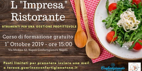 """L""""Impresa"""" Ristorante - Corso formazione gratuito biglietti"""