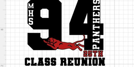 25TH CLASS REUNION SPONSORSHIP FOR MAGNOLIA HIGH SCHOOL CLASS OF 1994 tickets