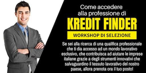 Come accedere alla professione di Kredit Finder
