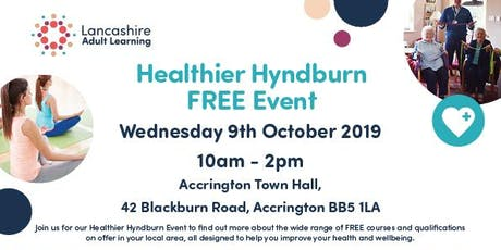 Healthier Hyndburn tickets