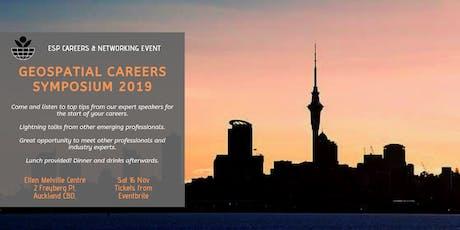 ESP Geospatial Careers Symposium 2019 - Auckland tickets