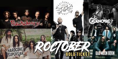 Roctober Gold Ticket - Sydney
