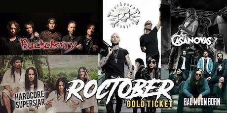 Roctober Gold Ticket - Sydney tickets