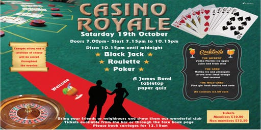 Casino Royale - James Bond Themed Casino Night