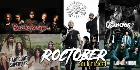 Roctober Gold Ticket - Melbourne tickets