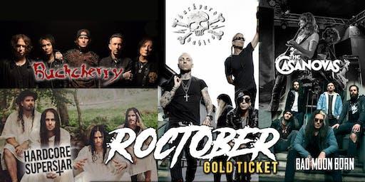 Roctober Gold Ticket - Melbourne