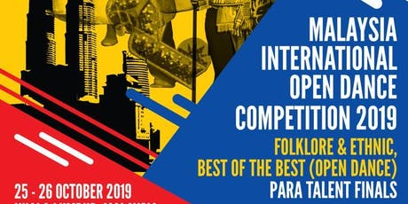 Malaysia International Open Dance Championship 2019 tickets