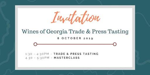 Wines of Georgia Manchester Trade & Press Tasting