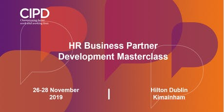 HR Business Partner Development - Masterclass tickets