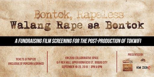 Walang Rape Sa Bontok Fundraising Film Screening