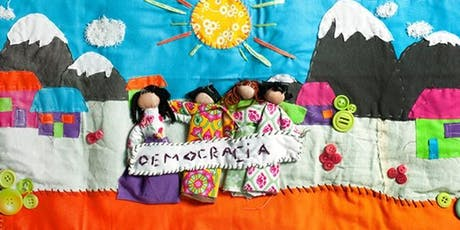 Stitched Stories - a workshop making Chilean Arpilleras tickets