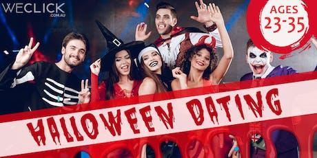 Halloween Dress Up Speed Dating   Hobart tickets