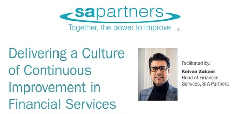 Continuous Improvement in Financial Services - London tickets