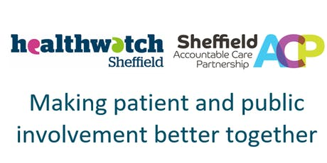 Making patient and public involvement better together tickets