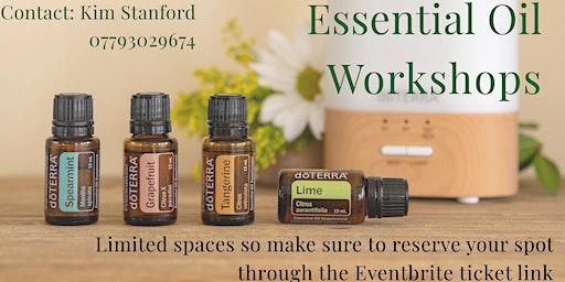 Essential Oils Workshop - Daily Health Habits (Darlington)