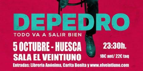 Depedro en Huesca (Sala El Veintiuno) entradas