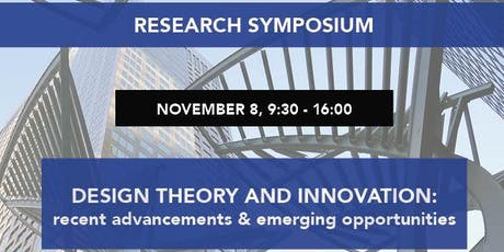 DESIGN THEORY AND INNOVATION: recent advancements & emerging opportunities tickets