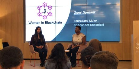 Women in Blockchain Talks at WeWork - Finsbury Pavement tickets