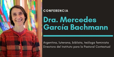 Conferencia Dra. Mercedes García Bachmann tickets