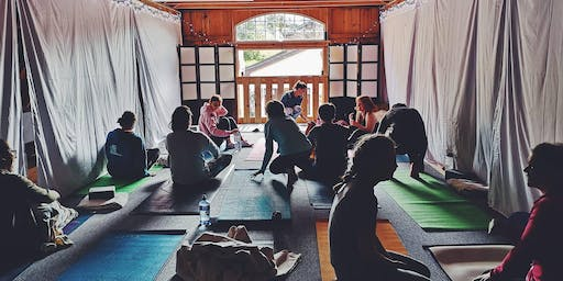 An Autumn Equinox Yin Yoga Supper with Sweet As at the Yoga Barn