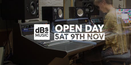 dBs Music Plymouth Open Day tickets