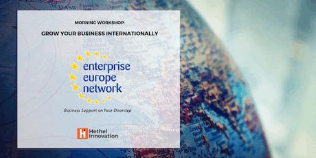 Grow your Business Internationally tickets