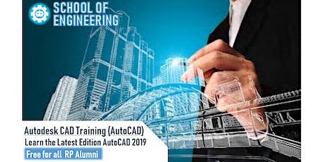 Autodesk CAD Training (AutoCAD) 2019 Edition tickets