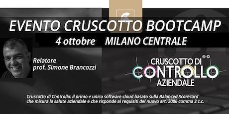 BOOTCAMP CRUSCOTTO DI CONTROLLO, Milano, 4 ottobre biglietti