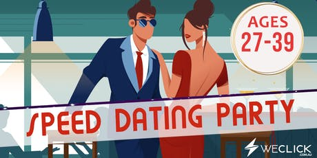 Speed Dating & Singles Party | ages 27-39 | Melbourne tickets
